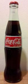 Lifestyle-Getränk mexikanische Coca Cola, gesüßt mit Zucker, nicht mit HFCS